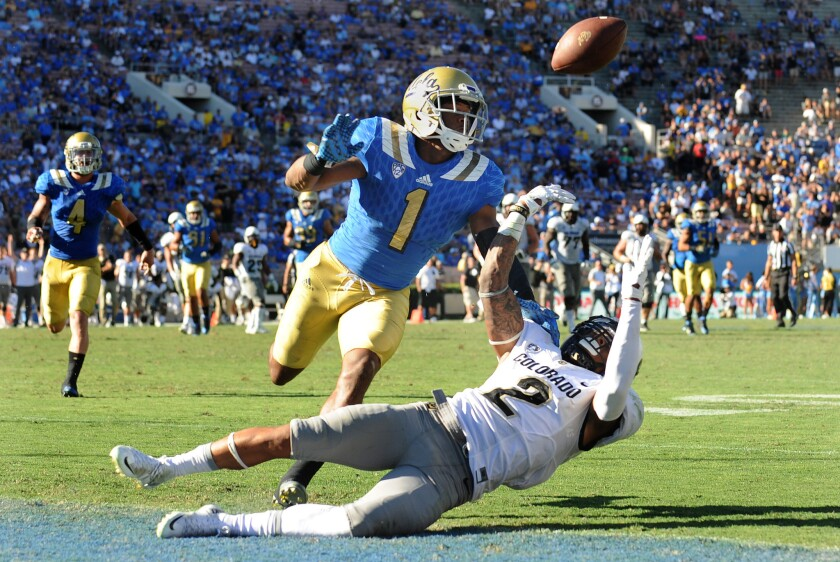 UCLA's weary defense puts finish on Bruins' win over Colorado, 35-31