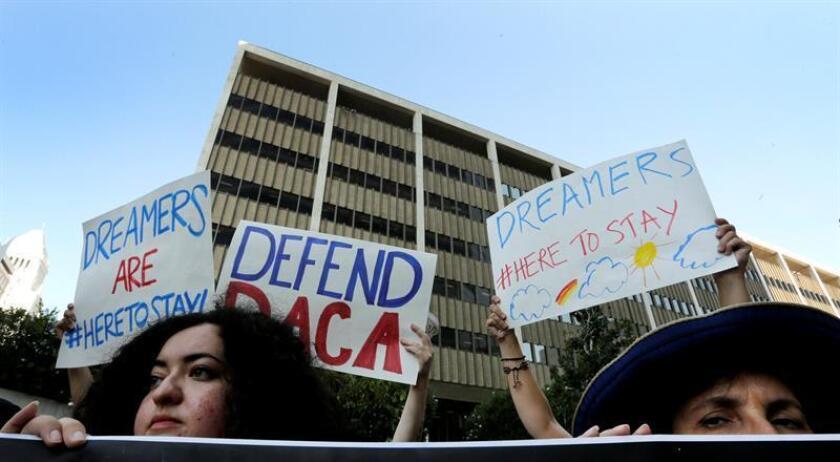 """""""Soñadores"""" creen que las urnas castigarán congresistas que no apoyaron DACA"""