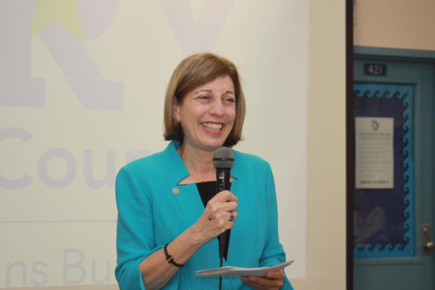 Newly elected District 1 San Diego City Council member Barbara Bry