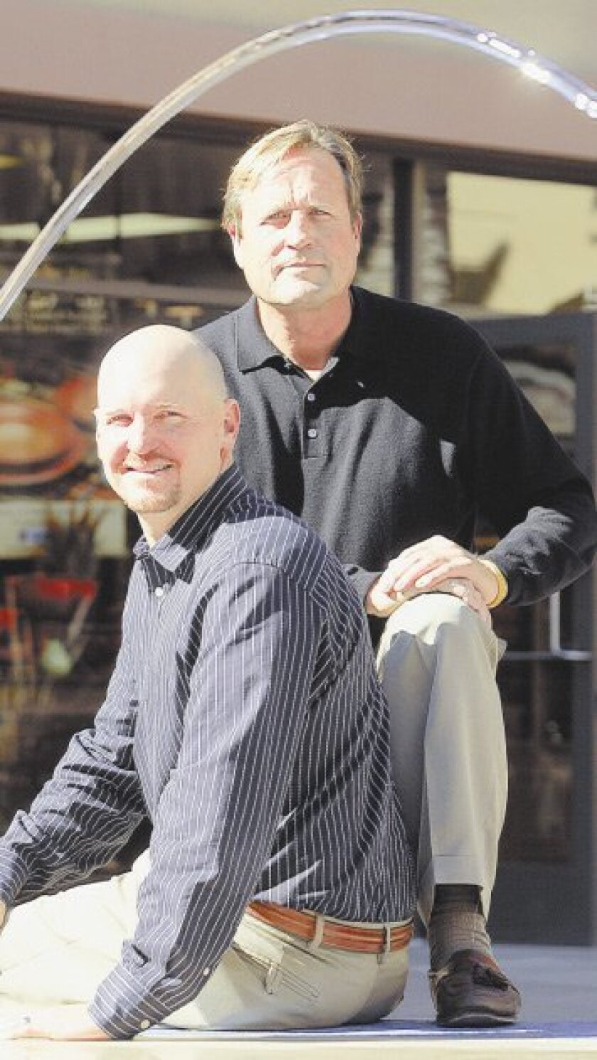 The Orange County-based service's directors (left) are Colin Bemus (far left) and Joe Montross.