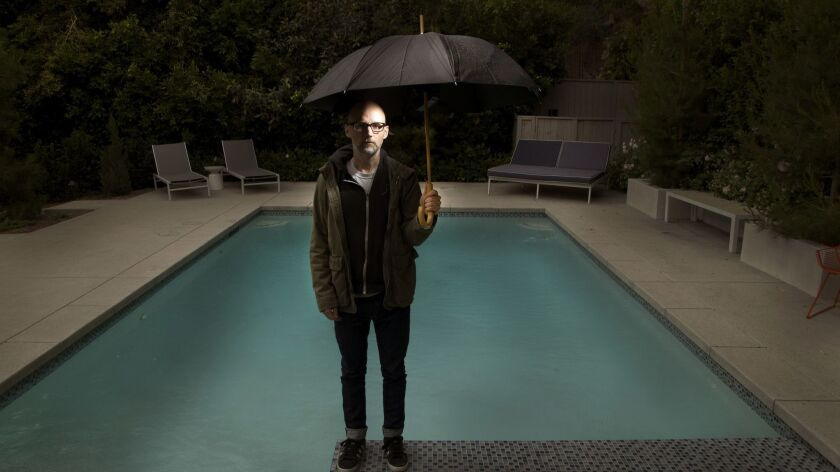 Los Feliz, CA -- MAY 6, 2016: The musician Moby is following in the footsteps of his long-distant an