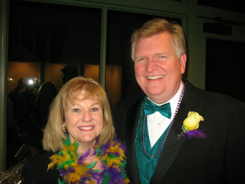 Wanda and Bill Smith at the 10th Annual Coeur de Cuisine, held Feb. 24 at the California Center for the Arts, Escondido. CREDIT: Cathy Hendrie