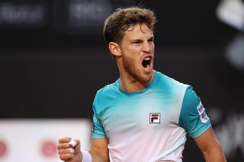 En la imagen, el tenista argentino Diego Schwartzman. EFE/Archivo