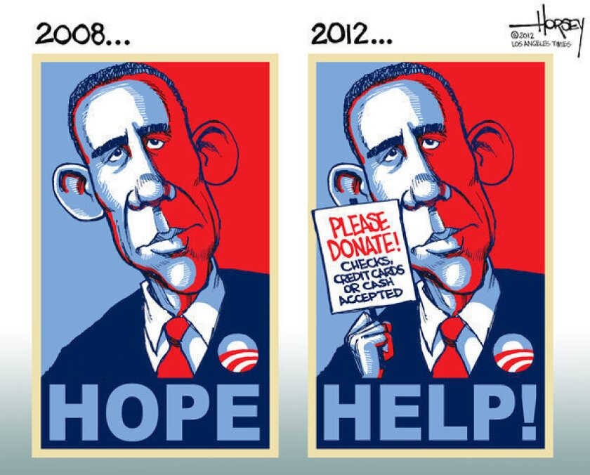 Barack Obama's 2012 campaign more about help than hope