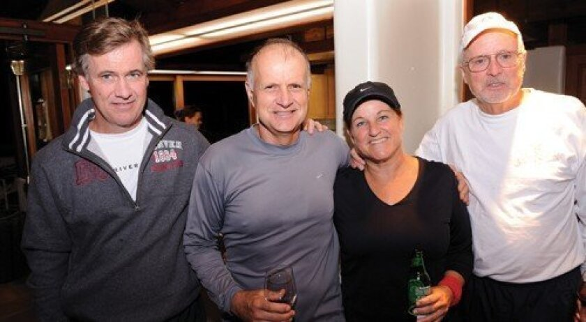 Paul LeBeau, Terry and Barbara McClanahan, Herb Holmquist (Photo: Jon Clark)