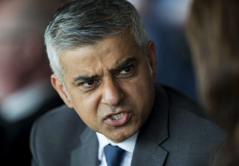 Newly elected Mayor of London Sadiq Khan.