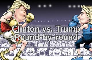 Scoring the debate: How Clinton beat Trump round-by-round