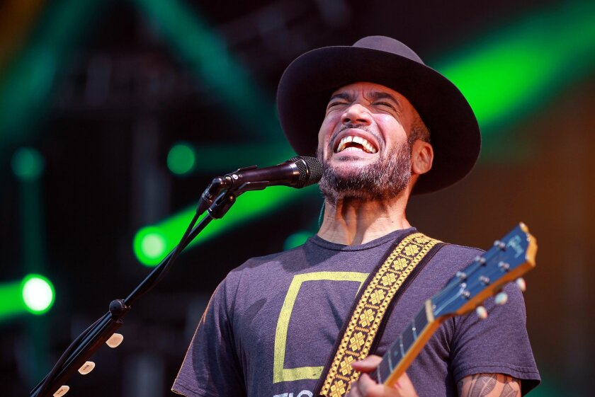 Ben Harper (above) and his band, The Innocent Criminals, will headline Friday night at San Diego's new Wonderfront Music & Arts Festival.