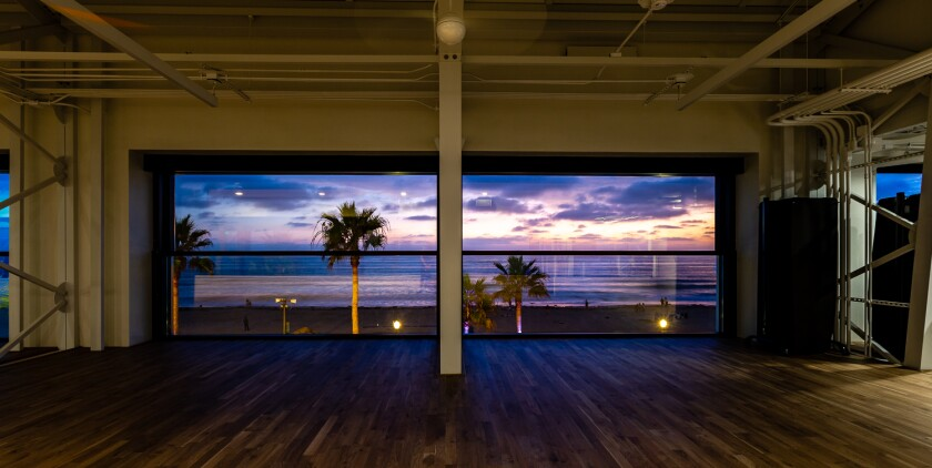 Yoga studio at FIT Mission Beach