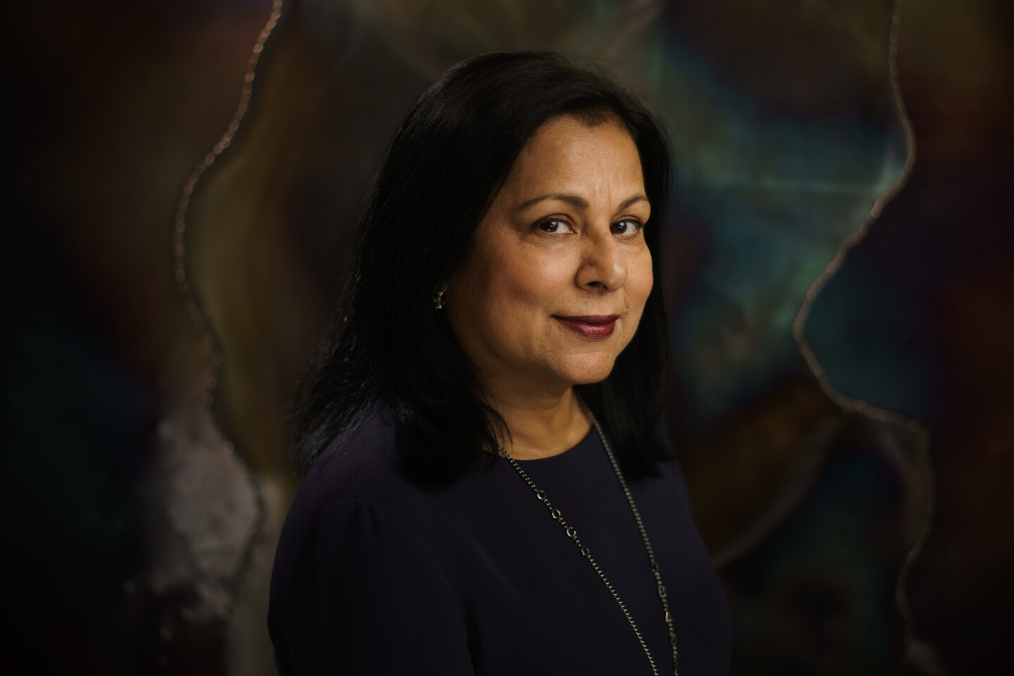 Geeta Bansal, chef of the Clay Oven in Irvine, Calif.