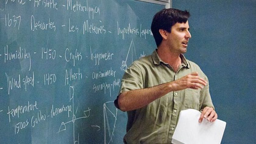 Mark Z. Jacobson, a professor of environmental engineering at Stanford University, has published research that found that the U.S. can can run on 100 percent renewable energy by 2050.