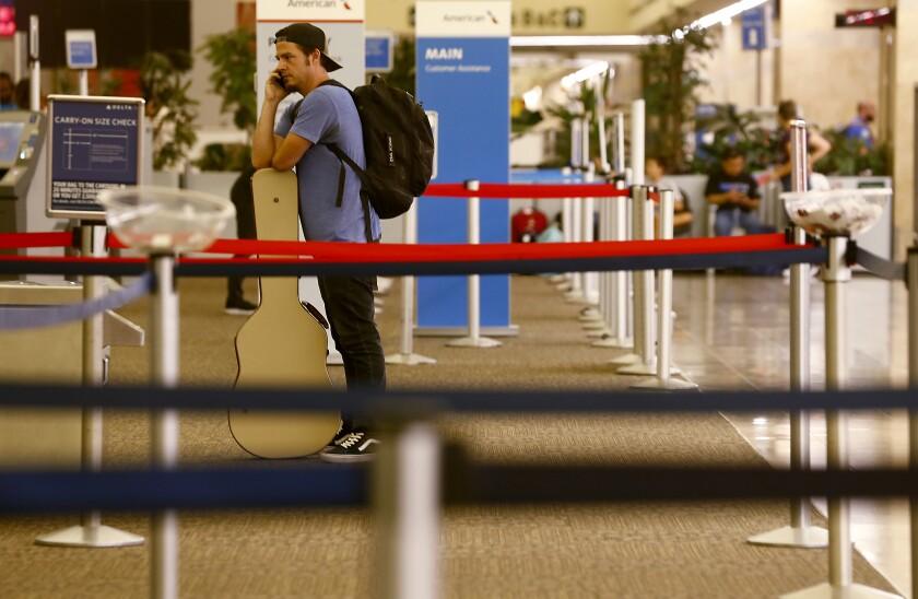 Outage at John Wayne Airport