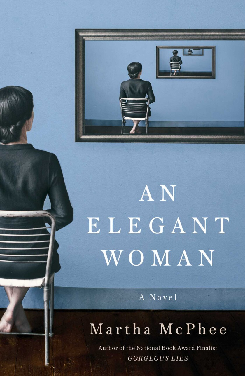 "A book jacket for ""An Elegant Woman."""