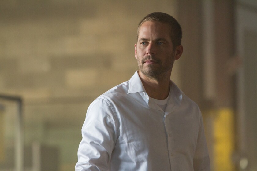 "Paul Walker in ""Furious 7,"" which some reviewers have called a touching tribute to the late actor."