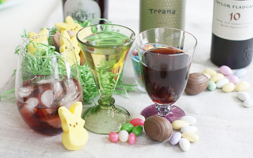 Pairing wine with your favorite Easter candy may be easier than you think.