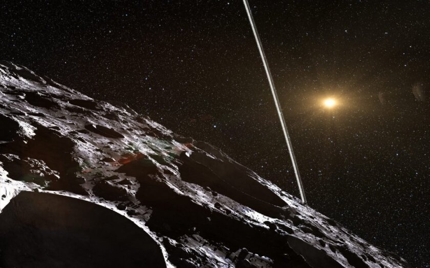 In a first, scientists find an asteroid with rings