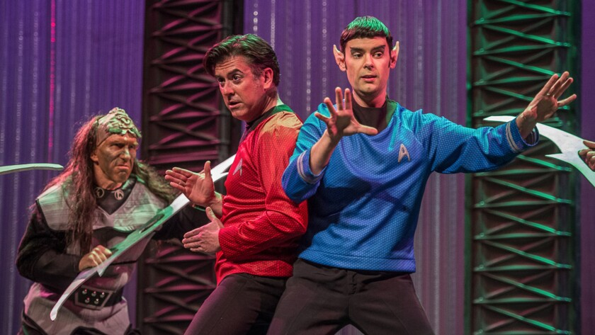 "Mozart's ""Abduction from the Seraglio"" has been set in the Star Trek universe by the Pacific Opera Project."