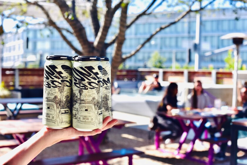 Gravity Heights will bring back its June Gloom Hazy IPA on June 15 in honor of the reopening of the state.