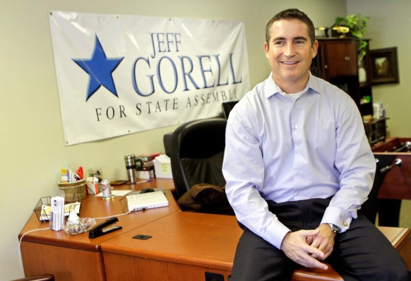 Assemblyman Jeff Gorrell challenged freshman Rep. Julia Brownley (D-Oak Park) for Congress.
