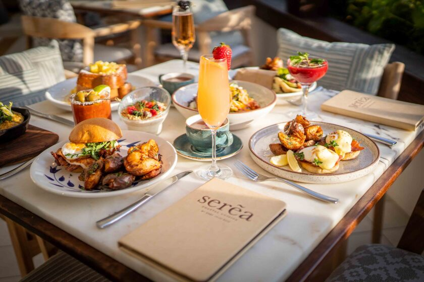 Il ristorante Sera Coastal Cuisine dell'Hotel Del Coronado servirà il brunch per la festa del papà il 20 giugno.