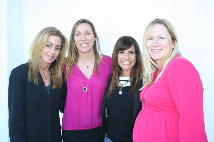 Susan von Posern, Debbie Hart, Laurel Smith and Carly Bazzett are organizing the 'Champions of Hope' fundraiser for the San Diego chapter of the Crohn's and Colitis Foundation of America, set for March 15.