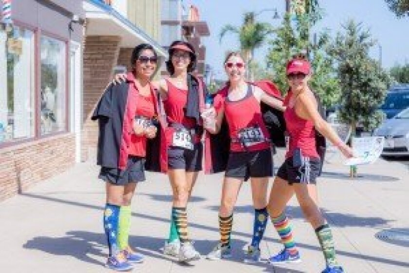 Teams are encouraged to have fun with costumes for the Super Tasty 5K