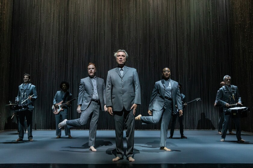 'America Utopia' starring David Byrne on Broadway