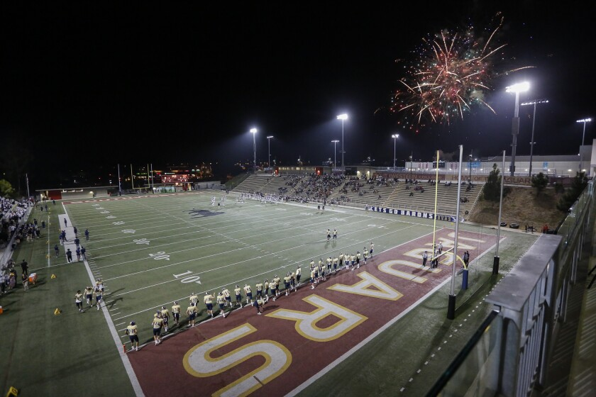 Devore Stadium at Southwestern College in Chula Vista will not host any JC football until at least 2021.