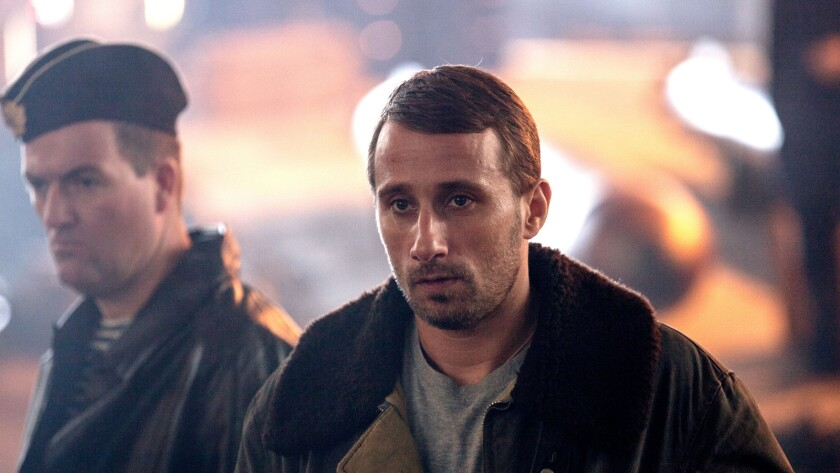 """Cavron Jérémy, left, and and Matthias Schoenaerts in the movie """"The Command."""""""
