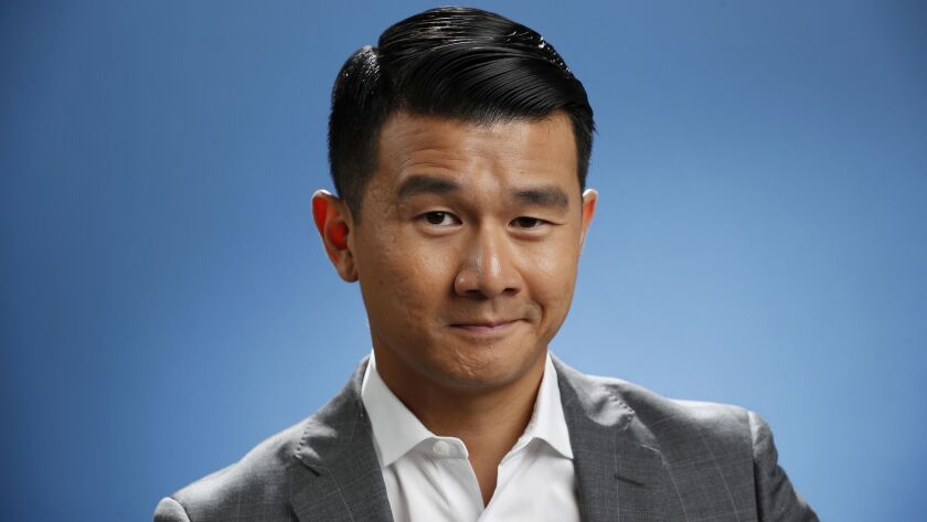 EL SEGUNDO, CA-JULY 26, 2018: Actor Ronnie Chieng is photographed at the Los Angeles Times studio i