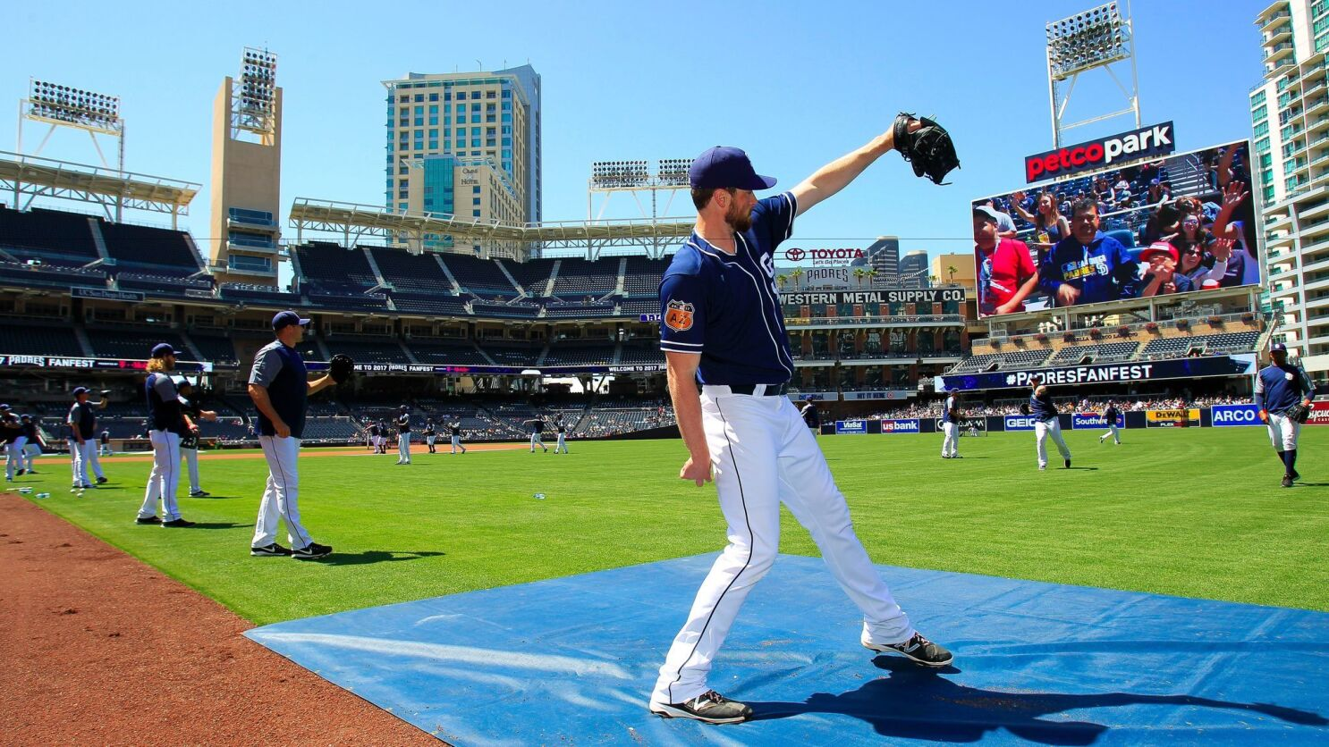 720ef09e1 Once a pitcher's paradise, Petco Park seems to be playing fairer than ever  - The San Diego Union-Tribune