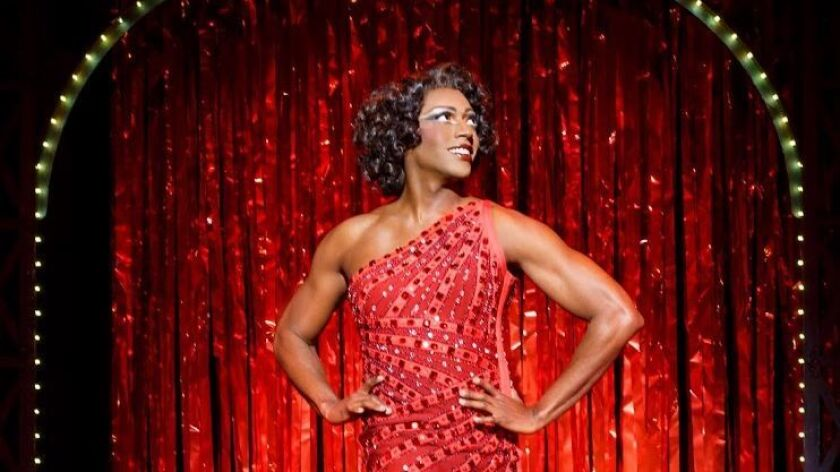 Timothy Ware as Lulu in 'Kinky Boots,' coming to Civic Theatre March 9-12.