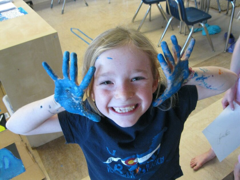 Hands-on learning projects and interactive activities fuel the curriculum at The Children's School in La Jolla.