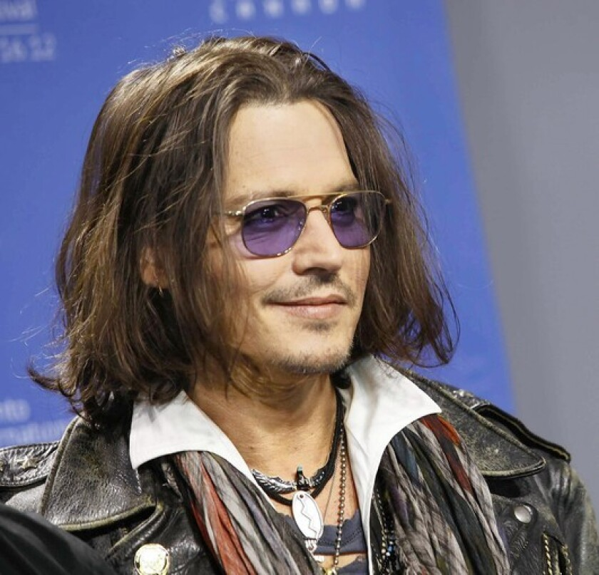 Johnny Depp at the Toronto Film Festival earlier this year.