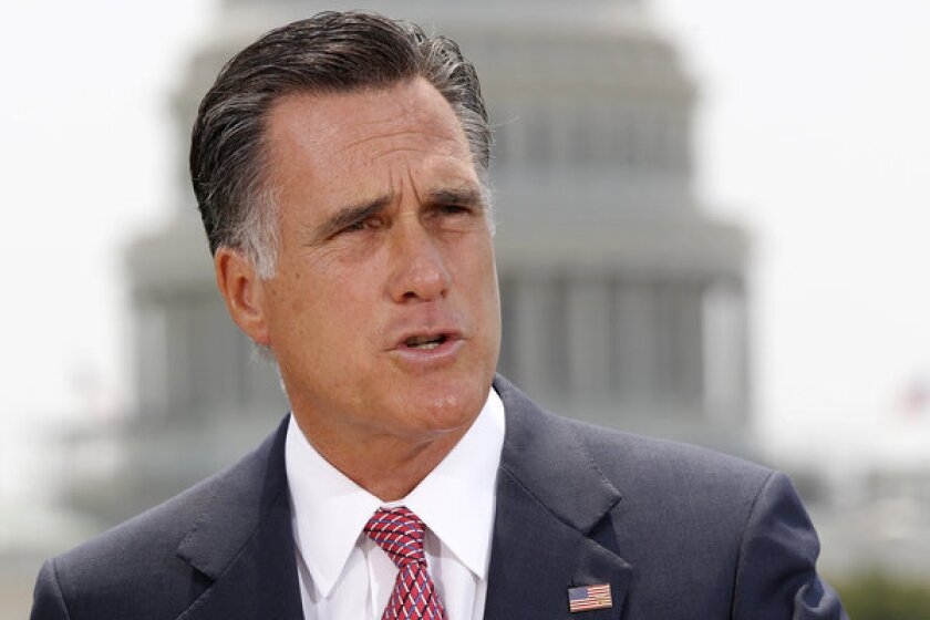 Sen. Mitt Romney (R-Utah) said he would not block action on President Trump's next Supreme Court nomination.