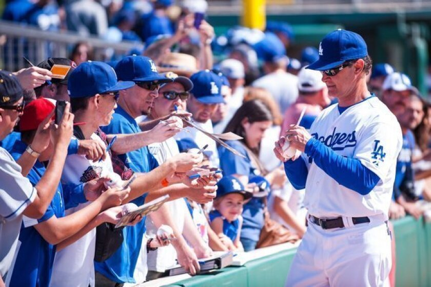 Dodgers, Don Mattingly talk about new contract