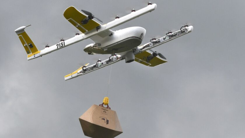 Google offshoot joins with Walgreens and FedEx to launch drone deliveries within a month