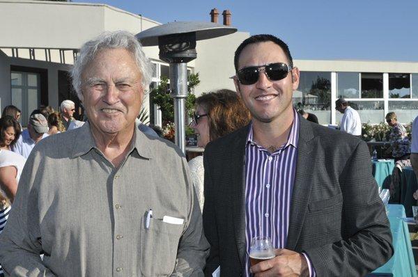 Event co-chairs Tom Ryan and Paul Chunyk
