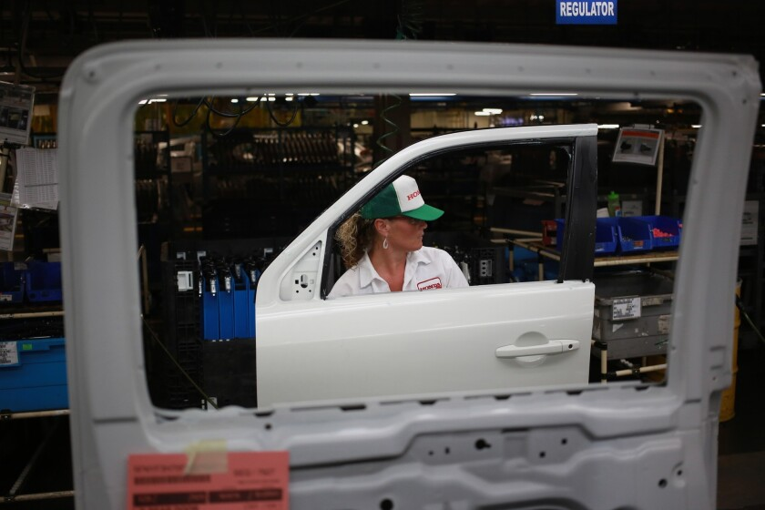 Cars Made By Japanese Automakers In U S Hit Record Level Last Year