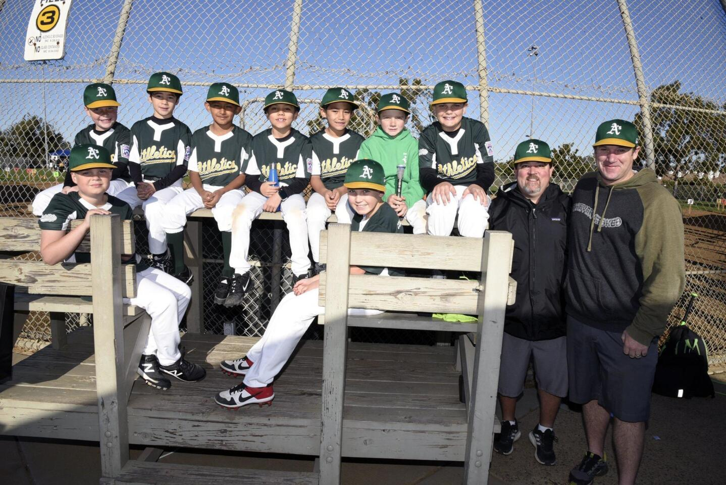 Encinitas Little League Opening Day