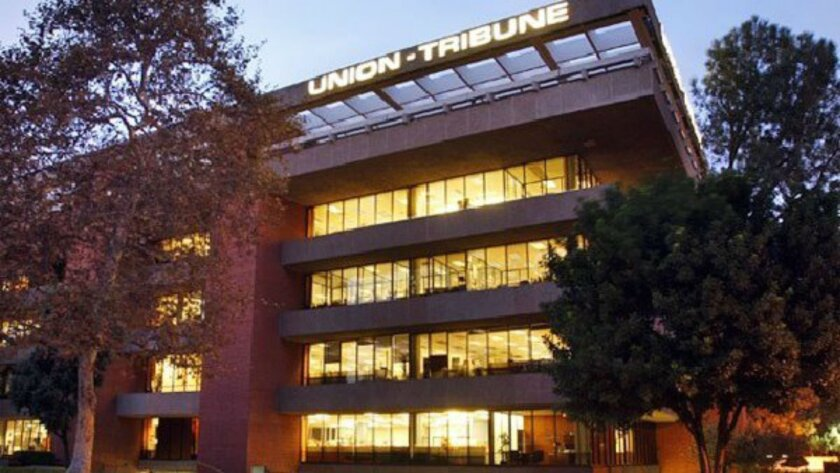 The U-T headquarters in Mission Valley.
