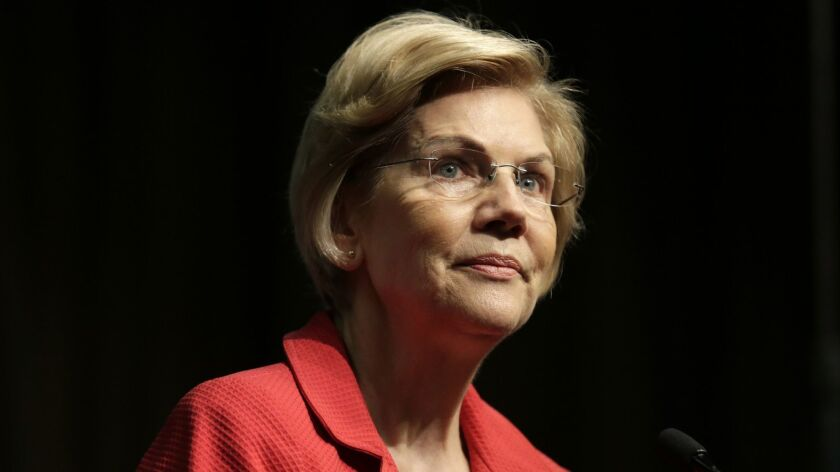 Sen. Elizabeth Warren (D-Mass.) is the first major presidential candidate to demand impeachment hearings.