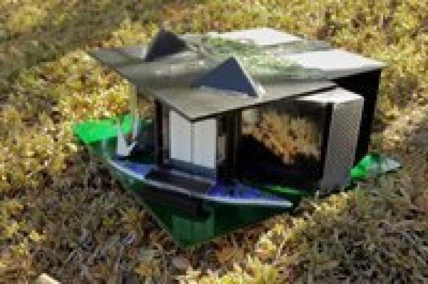 Hybrid home mock-up design by Chuck Bahde