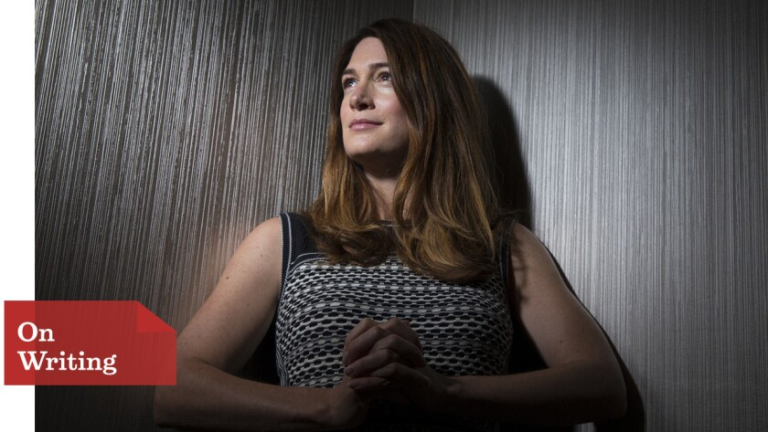 """Novelist Gillian Flynn, author of the bestseller """"Gone Girl,"""" worked with director David Fincher to adapt it for his movie."""