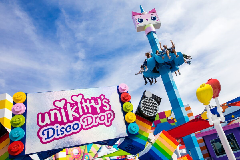Legoland's Unkitty's Disco Drop