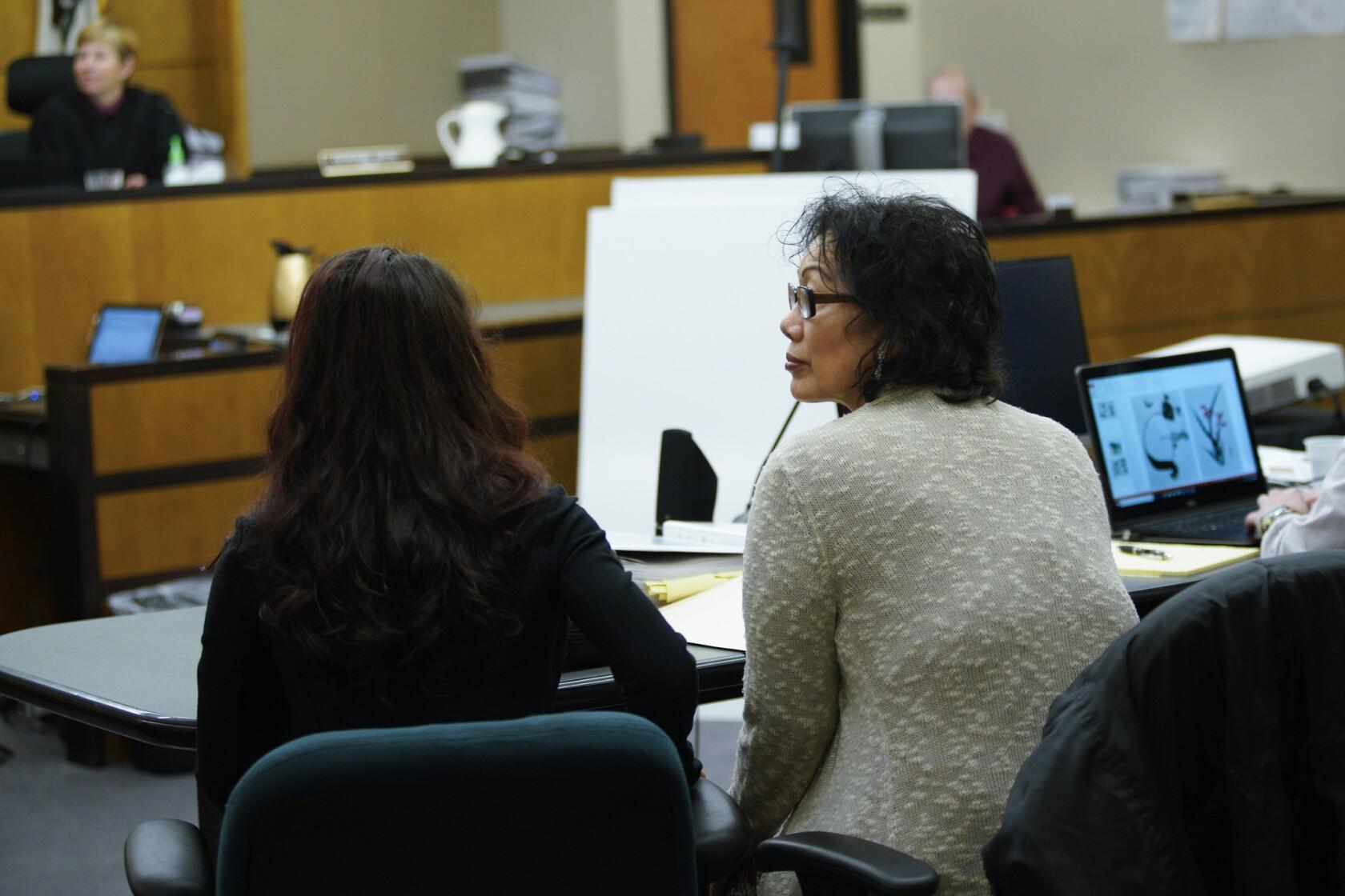 Closing arguments underway in Zahau wrongful death trial - The San