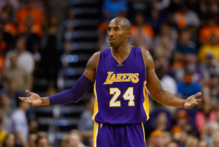 Are Kobe Bryant and the Lakers still L.A.'s favorite team even if they're no longer the city's best team?