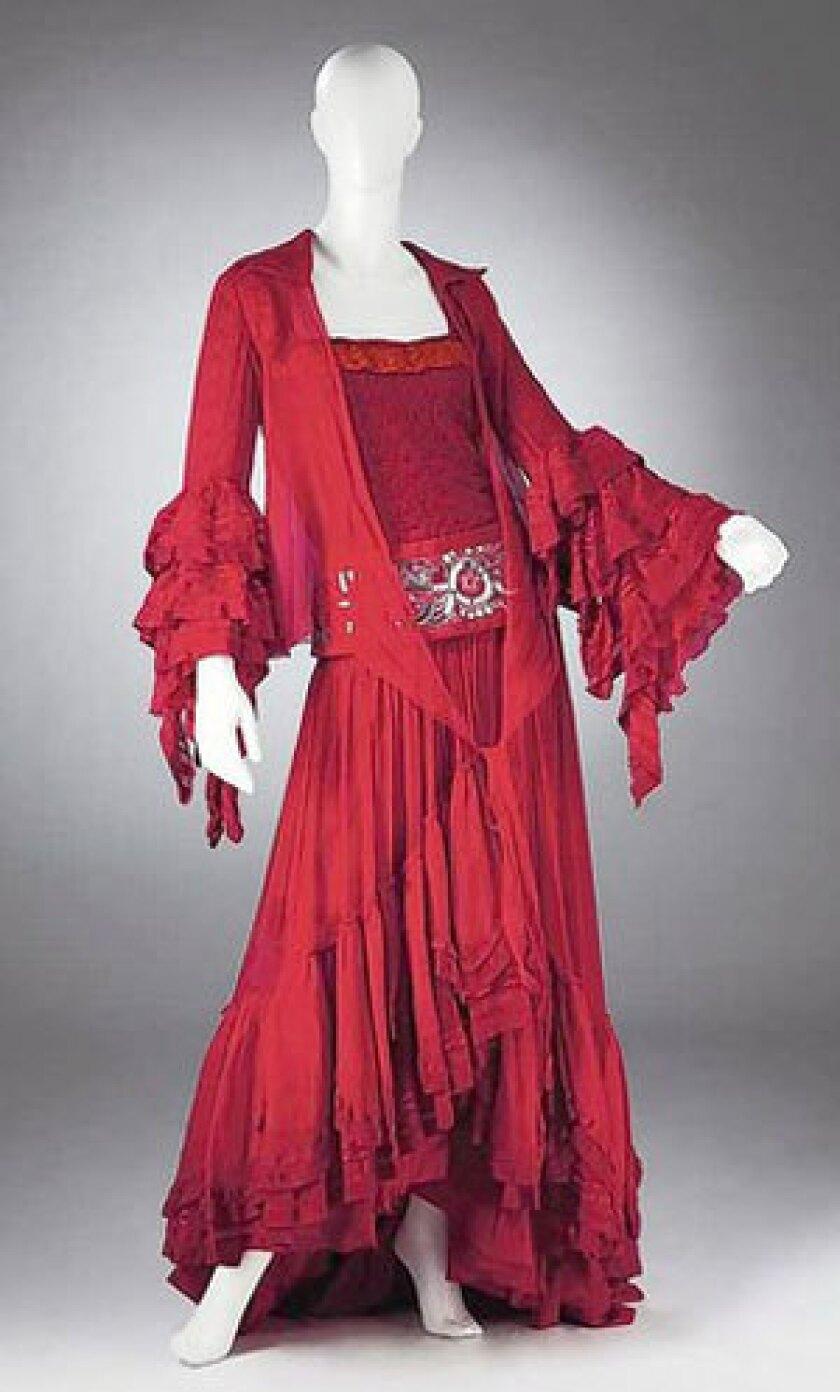 """Alberta Ferretti's design for """"Carmen"""" is on display at """"Il Teatro Alla Moda."""""""