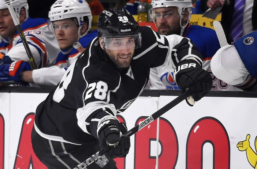 Kings center Jarret Stoll was arrested in April on suspicion of possessing controlled substances.