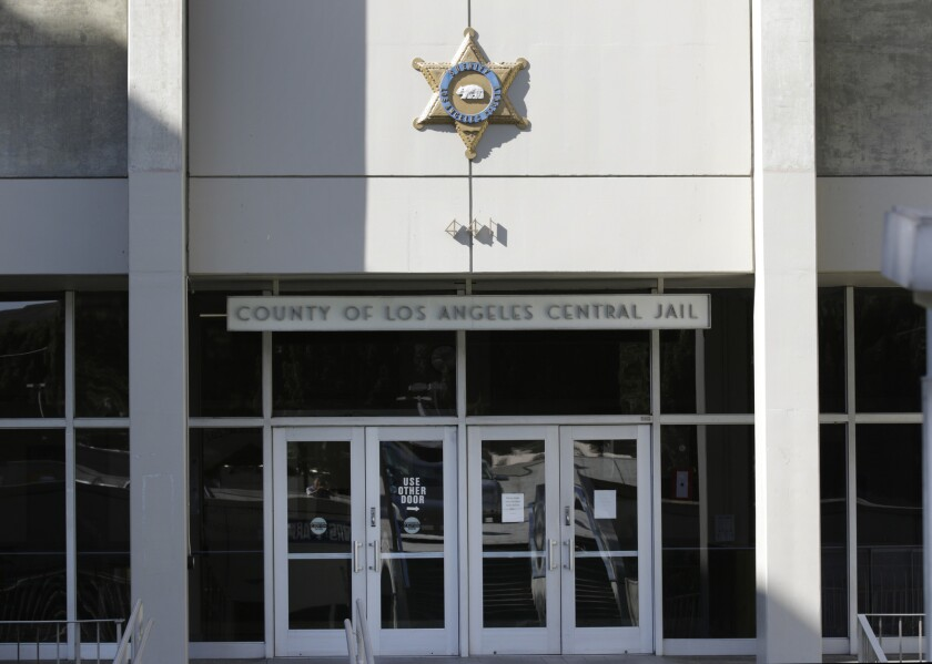 Los Angeles County supervisors have been considering plans to replace the Men's Central Jail in downtown Los Angeles.